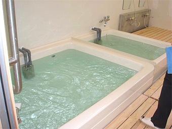 入浴施設の完成