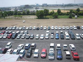 駐車場が整備